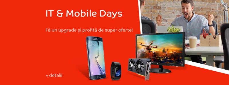 reduceri telefoane emag it mobile days