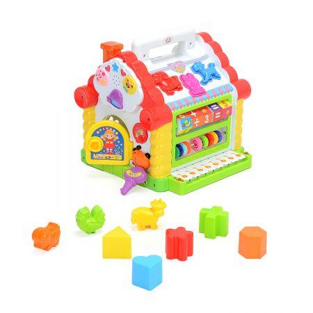 centru de activitati mappy toys casuta