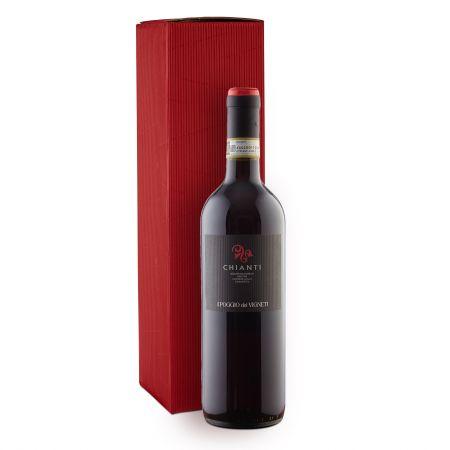 pachet cadou craciun vin rosu chianti