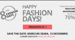 reduceri ziua happy fashion days 2017