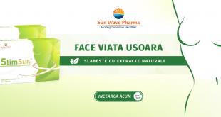Slabeste natural cu SlimSun de la VEGIS + Voucher Cadou in valoare de 100 RON