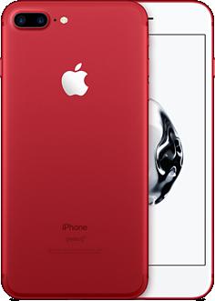 apple iphone7 plus red