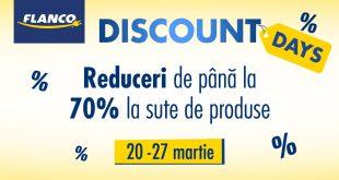 reduceri flanco discount days martie 2017