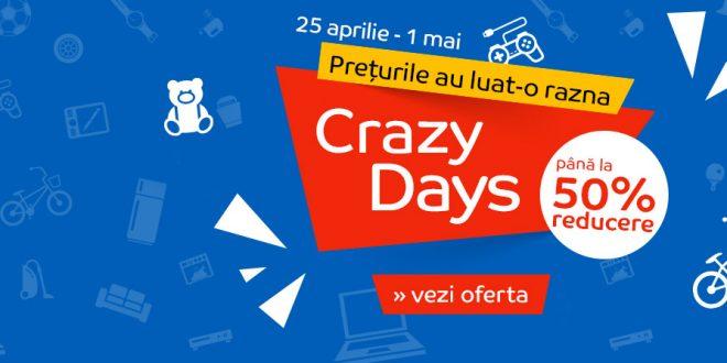 Reduceri eMAG Crazy Days dupa Black Friday. Vezi promotiile.