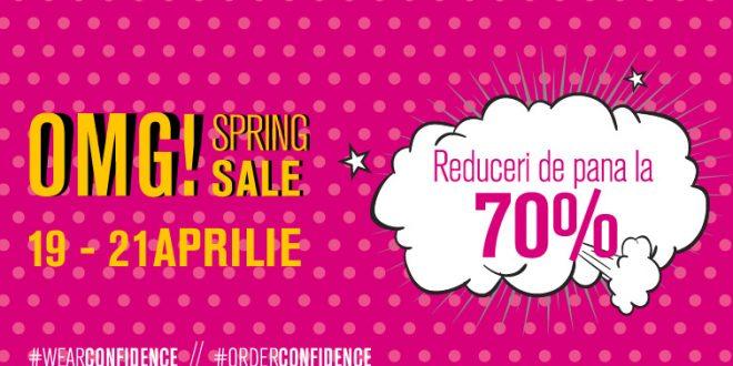 Reduceri Fashion Days Spring Sale 70% in aprilie