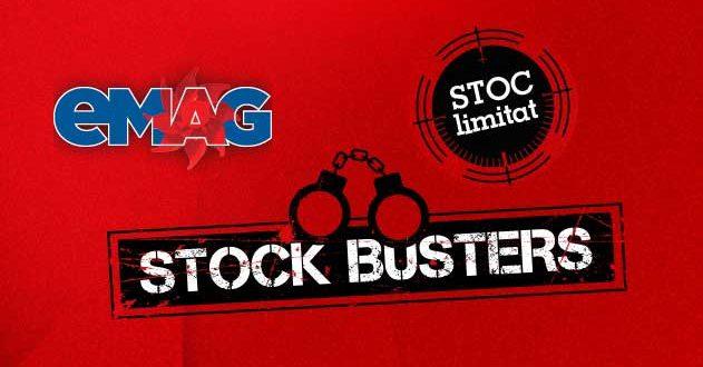 Stock Busters la eMAG. Reduceri de 75% ca de Black Friday