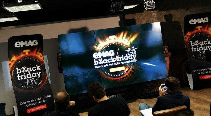 Black Friday eMAG 2017: produse speciale la reducere