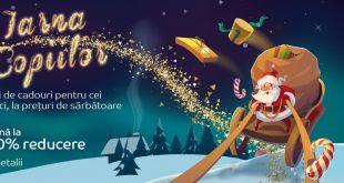 reduceri cadouri si jucarii oferte eMAG iarna copiilor