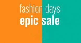 reduceri fashion days epic sale 2018
